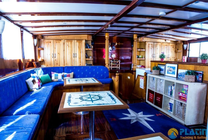 Sea Angel Yacht Gulet Charter Turkey Platin Yaching 34