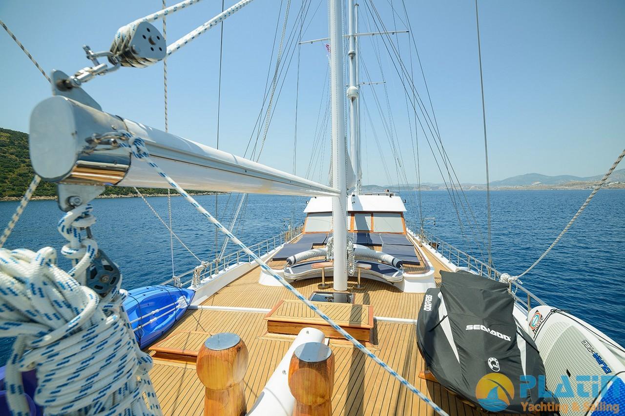Bella Mare Yacht Gulet 39 m 6 Cabin Luxury Yacht Charter Turkey Bodrum