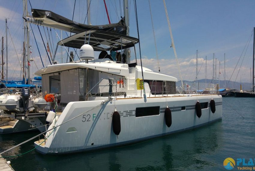 Lagoon 52 F Catamaran rental Turkey Yacht Charter Platin Yachting