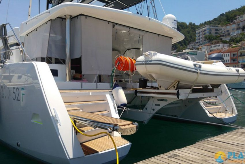 Lagoon 52 F Catamaran rental Turkey Yacht Charter Platin Yachting 16