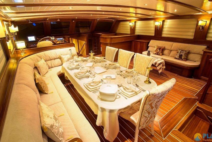 ece berrak gulet yacht for rent luxury yacht turkey 13