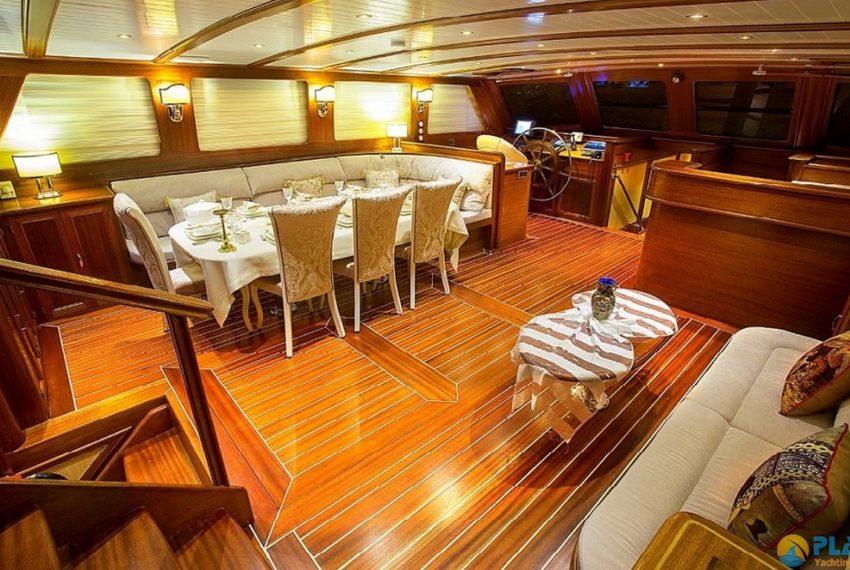 ece berrak gulet yacht for rent luxury yacht turkey 14