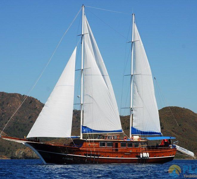 A Candan Gulet Yacht