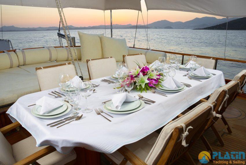 Dea Del Mare Gulet Yacht 09