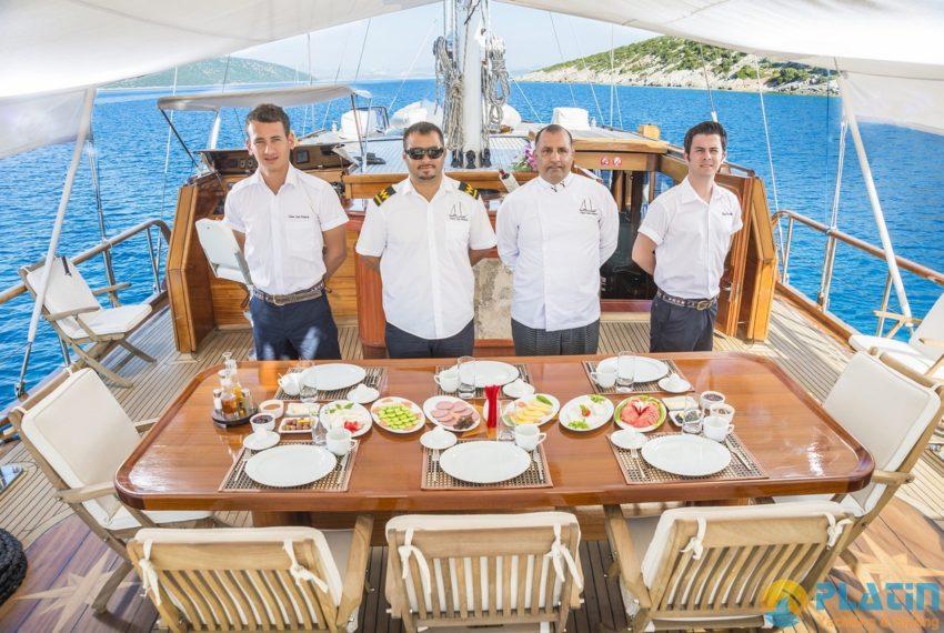 Dea Del Mare Gulet Yacht 20