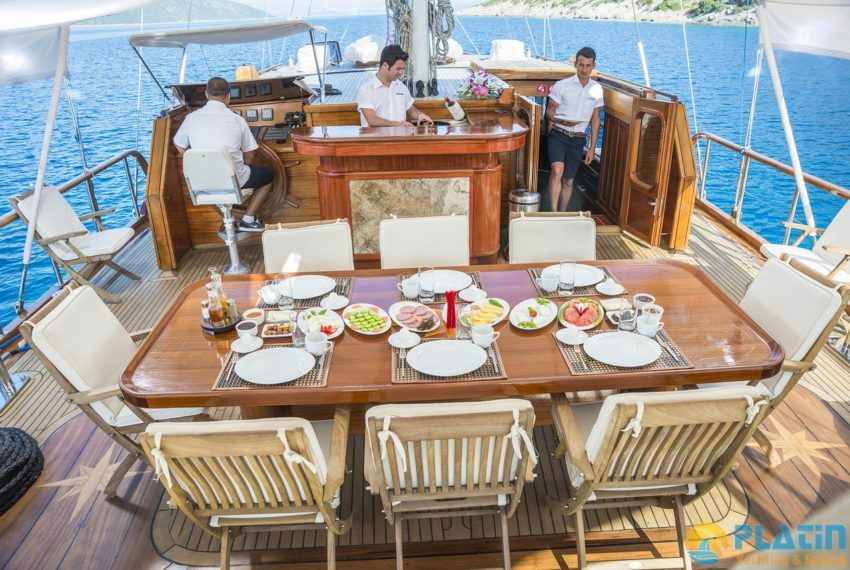 Dea Del Mare Gulet Yacht 21