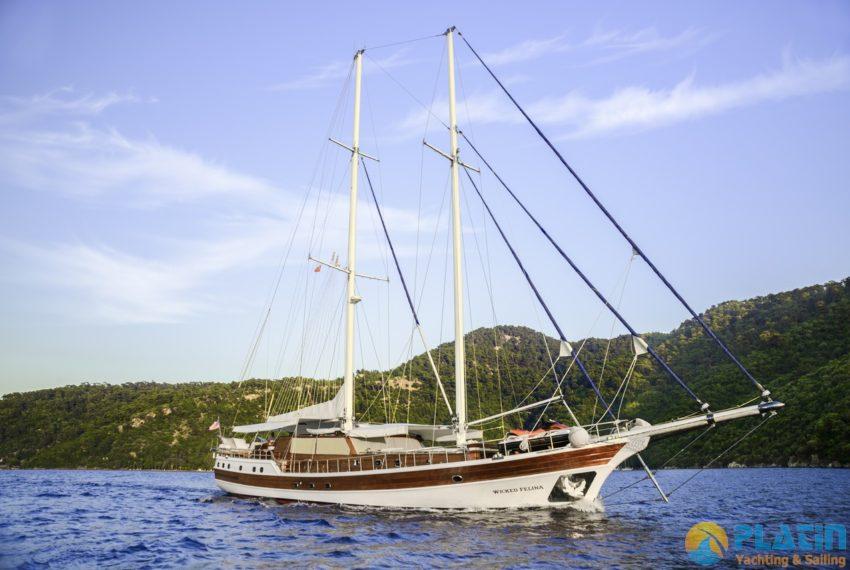 Wicked Felina Yacht Gulet Caicco 05
