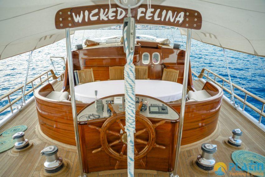 Wicked Felina Yacht Gulet Caicco 31