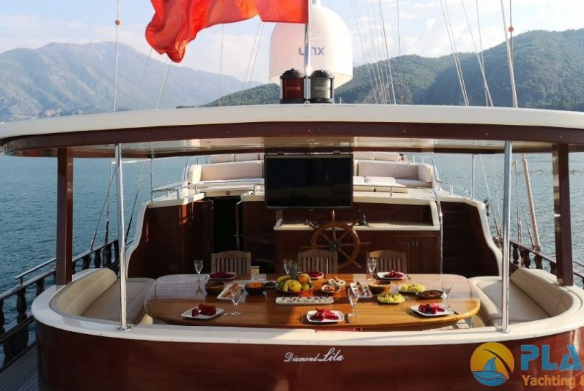 Diamond Lila Gulet Yacht Caicco 10