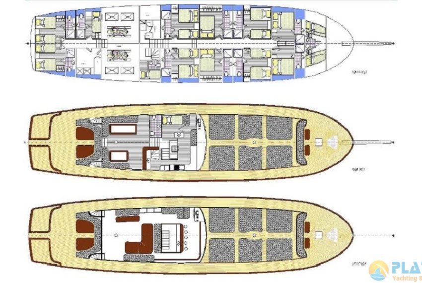 Oguz Bey Gulet Yacht Caicco 20