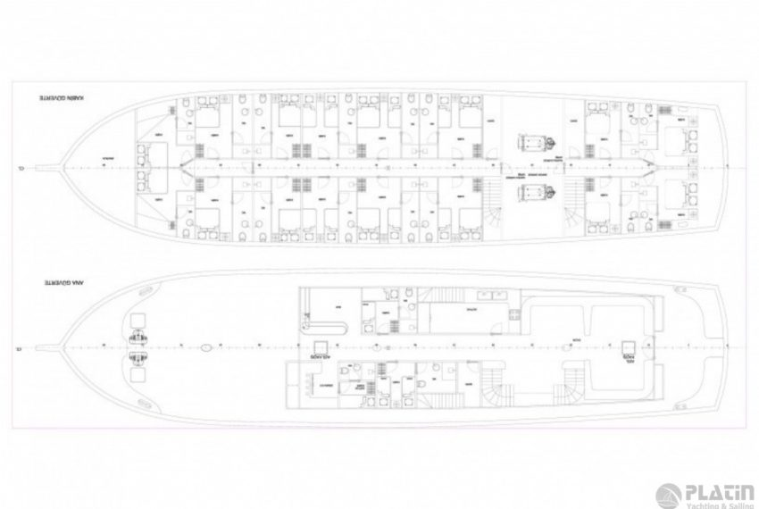 Grand Admiral Gulet Yacht Caicco 14