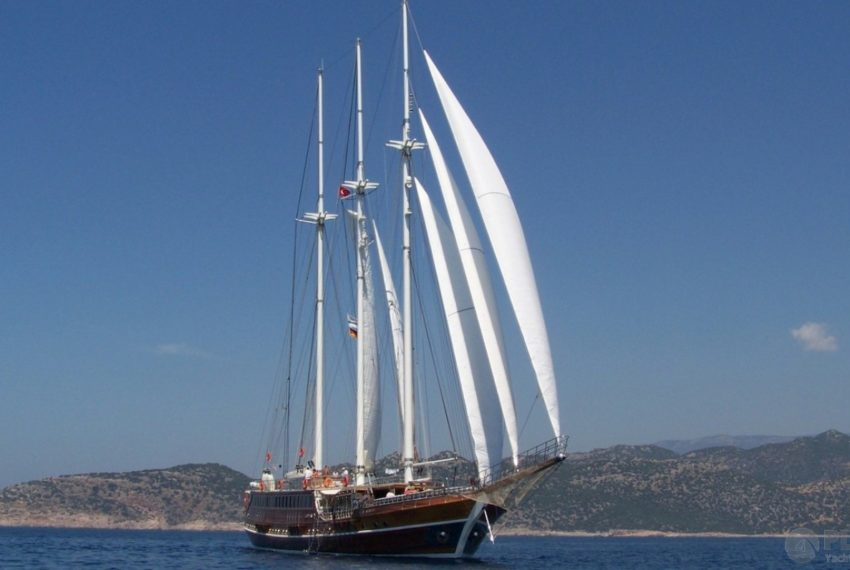 Grand Admiral Gulet Yacht Caicco 25